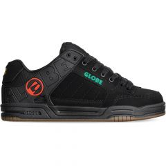 Globe Mens Tilt Skate Shoes - Black Rasta
