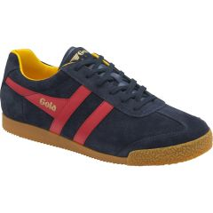Gola Mens Harrier Trainers - Navy Red Sun