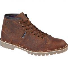 Grafters Mens Monkey Ankle Boots - Brown
