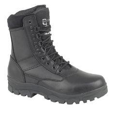 Grafters Mens Top Gun Military Combat Boots - Black