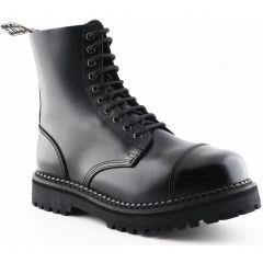 Grinders Mens Bulldog CS Steel Toe Cap Boots - Black