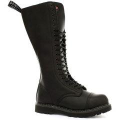 Grinders Mens King CS Steel Toe Cap Boots - Black