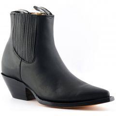 Grinders Mens Mustang Western Boots - Black