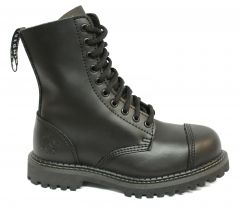 Grinders Mens Stag CS Safety Steel Toe Cap Boots - Black