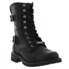 Harley Davidson Womens Balsa Boots - Black