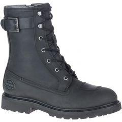 "Harley Davidson Mens Brosner 8"" Lace CE Waterproof Ankle Boots - Black"