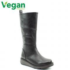 Heavenly Feet Womens Robyn 3 Vegan Boots - Black