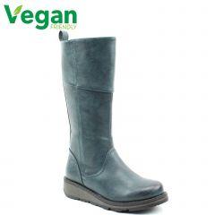 Heavenly Feet Womens Robyn 3 Vegan Boots - Ocean