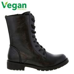 Heavenly Feet Womens Chloe Boots - Black