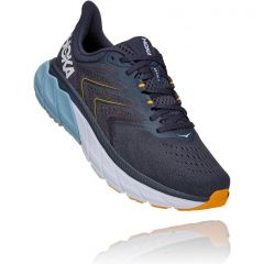 Hoka One One Mens Arahi 5 Road Running Shoes - Ombre Blue Blue Fog