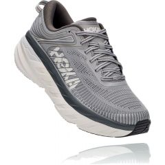Hoka One One Mens Bondi 7 Extra Wide Fit Running Shoes - Wild Dove