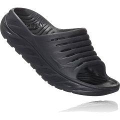 Hoka One One Mens Ora Recovery Slide Sandals - Black Black