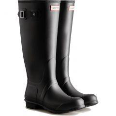 Hunter Womens Original Tall Wide Fit Wellington Boots - Black