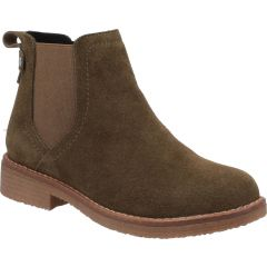 Hush Puppies Womens Maddy Ankle Boot - Khaki