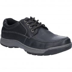 Hush Puppies Mens Tucker Shoes - Black