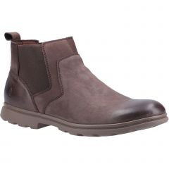 Hush Puppies Mens Tyrone Chelsea Boots - Brown
