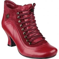 Hush Puppies Womens Vivianna Boots - Red