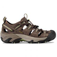 Keen Womens Arroyo II Sandals - Chocolate Chip Sap Green