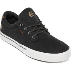 Etnies Mens Jameson 2 Eco Vegan Shoes - Black Black White