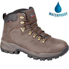 Johnscliffe Mens Waterproof Walking Boots - Brown