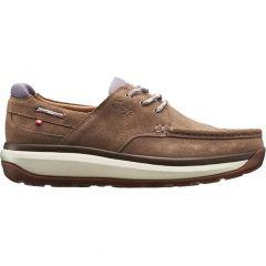 Joya Mens Havana Leather Boat Style Shoes - Light Brown