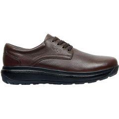 Joya Mens Mustang II Leather Shoes - Dark Brown