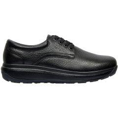 Joya Mens Mustang II Leather Shoes - Black
