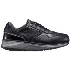 Joya Womens Tina II Casual Leather Shoes - Black