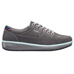 Joya Womens Vancouver Leather Shoes - Grey Blue