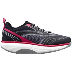 Joya Womens Zoom II Trainers - Black Pink