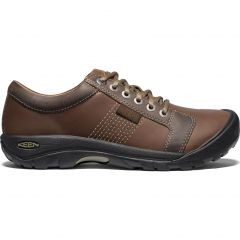 Keen Mens Austin Casual Shoes - Chocolate Brown