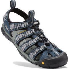 Keen Mens Clearwater CNX Sandals - Midnight Navy Vapor