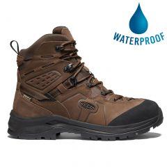 Keen Mens Karraig Mid WP Waterproof Boots - Dark Earth Raven