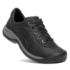 Keen Womens Presidio II Shoes - Black Steel Grey
