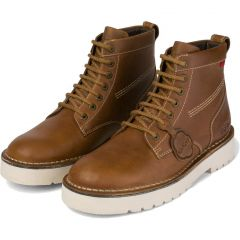 Kickers Mens Daltrey Boots - Tan Leather
