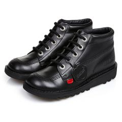 Kickers Kids Kick Hi Classic Ankle Boots - Black
