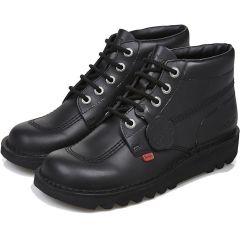 Kickers Womens Kick Hi Core Chukka Ankle Boots - Black