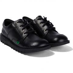 Kickers Kids Kick Lo Shoes - Black