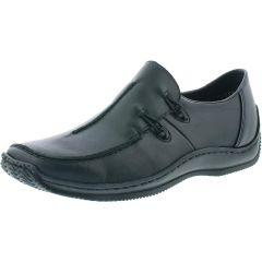 Rieker Womens L1751 Slip On Shoes - Black