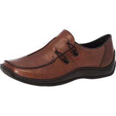 Rieker Womens L1751 Slip On Shoes - Brown Mahogoni