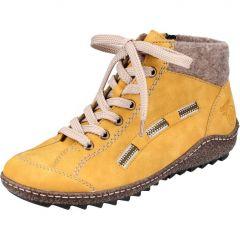 Rieker Womens L7543 Chukka Boots - Yellow Honig