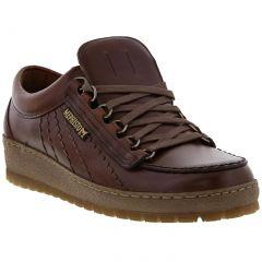 Mephisto Mens Rainbow Heritage Walking Shoes - Chestnut