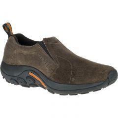 Merrell Mens Jungle Moc Leather Slip On Shoes - Gunsmoke