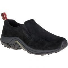 Merrell Mens Jungle Moc Leather Slip On Shoes - Midnight