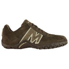 Merrell Mens Sprint Blast Leather Walking Shoes - Gunsmoke White