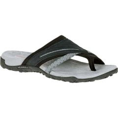 Merrell Womens Terran Post Toe Post Walking Sandals - Black