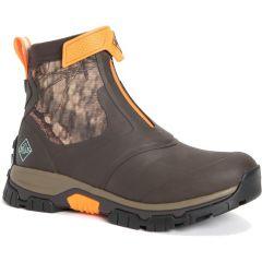 Muck Boots Mens Apex Zip Short Ankle Wellies - Mossy Oak