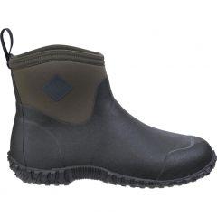 Muck Boots Mens Muckster II Ankle Short Chelsea Wellies Boots - Moss