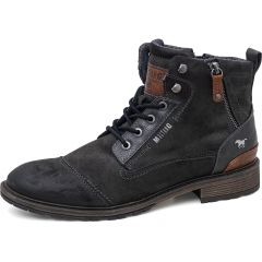 Mustang Mens 4140-504 Ankle Boots - Graphite