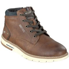 Mustang Mens 4149-501 Ankle Boots - Cognac Brown